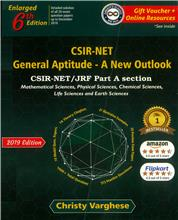 CSIR-NET General Aptitude- A New Outlook 6th Ed.