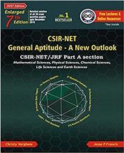 CSIR-NET General Aptitude- A New Outlook 7th Ed.