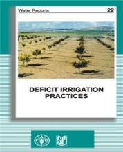 Deficit Irrigation Practices