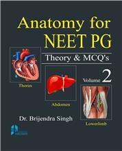 Anatomy for NEET PG Theory & MCQs (Vol. 2)