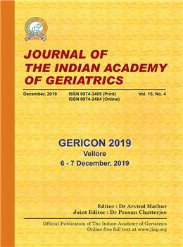 Journal of the Indian Academy of Geriatrics