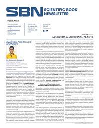 Ayurveda & Medicinal Plants, Scientific Book Newsletter Vol 19 Issue 08 August  2021