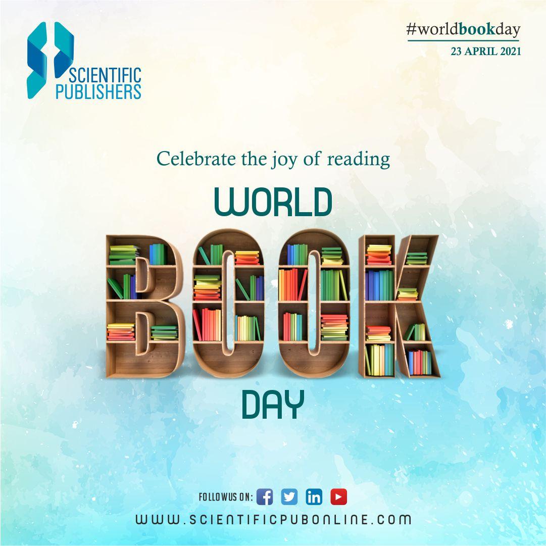 Happy World Book Day!  SCIENTIFIC PUBLISHERS